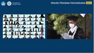 UGM Mewisuda 751 Lulusan, Ini Pesan Rektor