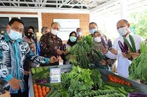 Bangsal Titik Kumpul Sayur Pertemukan Petani dengan Pengecer dan Pedagang Besar