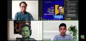 FAI UAD Adakan Webinar, Bahas Kiat Jadi Pembawa Acara
