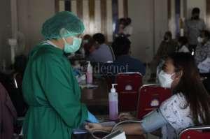 Dukung Percepatan Vaksinasi, UAJY Gelar Vaksinasi Massal Covid-19 untuk Keluarga Pegawai