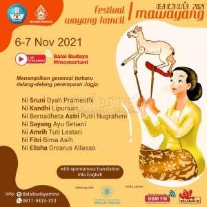 Ini Jadwal Mawayang 2021, Ada Festival Wayang Kancil