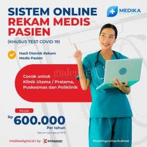 Medika Digital, Sistem Online Rekam Medis Pasien Khusus Test Covid-19